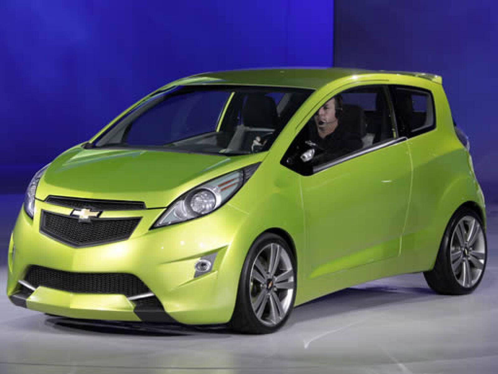 En 2011, GM  tratará de conquistar el mercado de subcompactos con el Spark, basado en el modelo Beat.