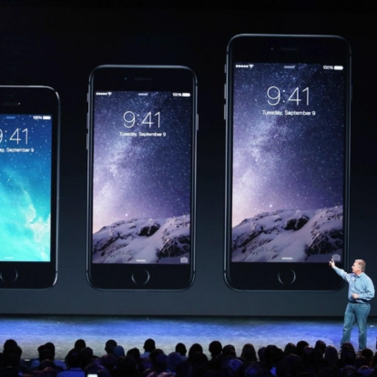 Apple presenta el nuevo iPhone 6 y iPhone 6 Plus