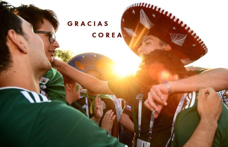 COREA-MEXICO-SUECIA-PARTIDO