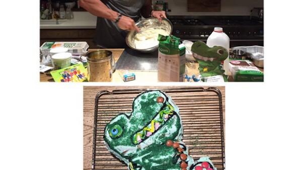 El actor australiano no se quedó de brazos cruzados cuando una panadería no tuvo tiempo para preparar el pastel de cumpleaños de su primogénita.