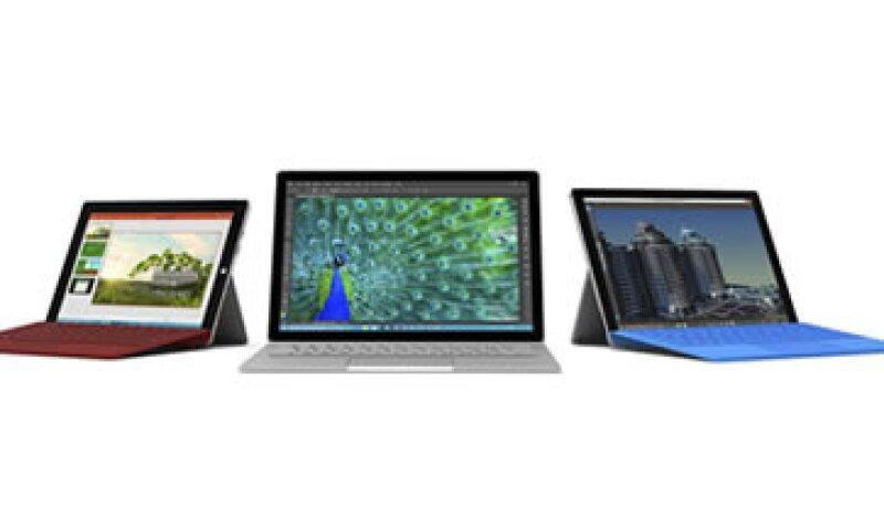 Los nuevos dispositivos de Microsoft funcionarán con Windows 10. (Foto: (EFE) )