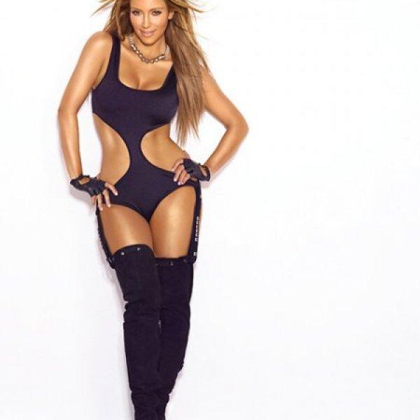 La modelo es hija del abogado Robert Kardashian, famoso por ser el defensor del jugador de americano O.J Simpson.