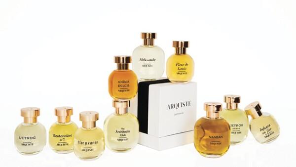 El perfumista mexicano presentó su colección Arquiste en El Palacio de Hierro Polanco; una colección inspirada en momentos históricos y que nos llevan al pasado.