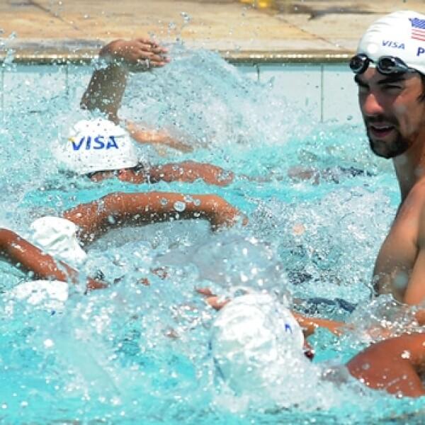 Michael Phelps - Río de Janeiro favela 1