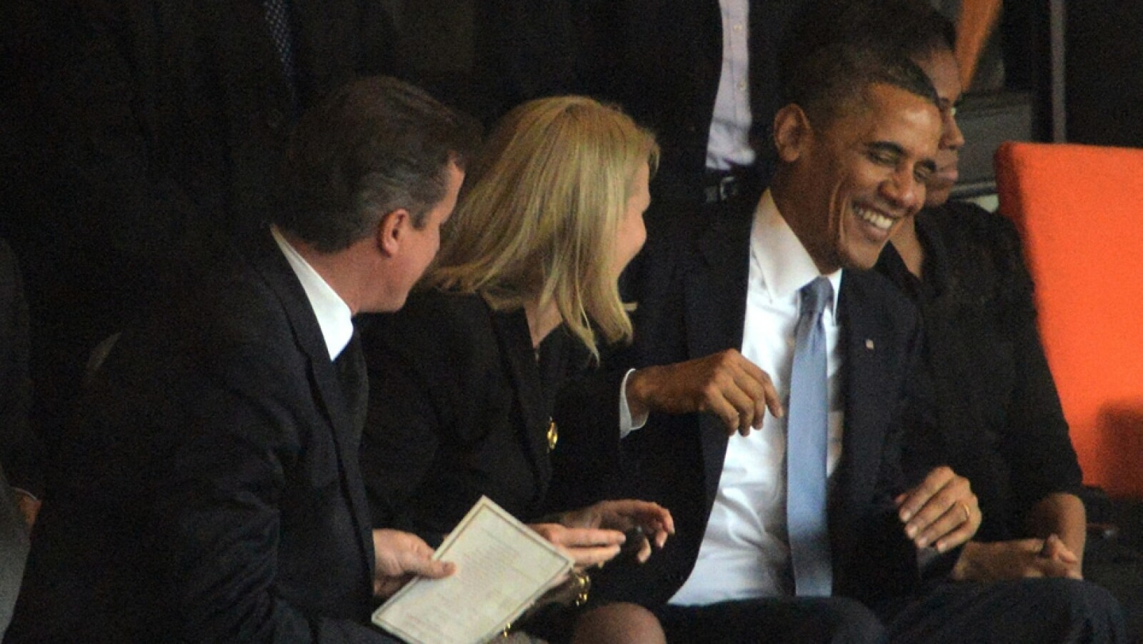 Barack Obama David Cameron Helle Thorning-Schmidt