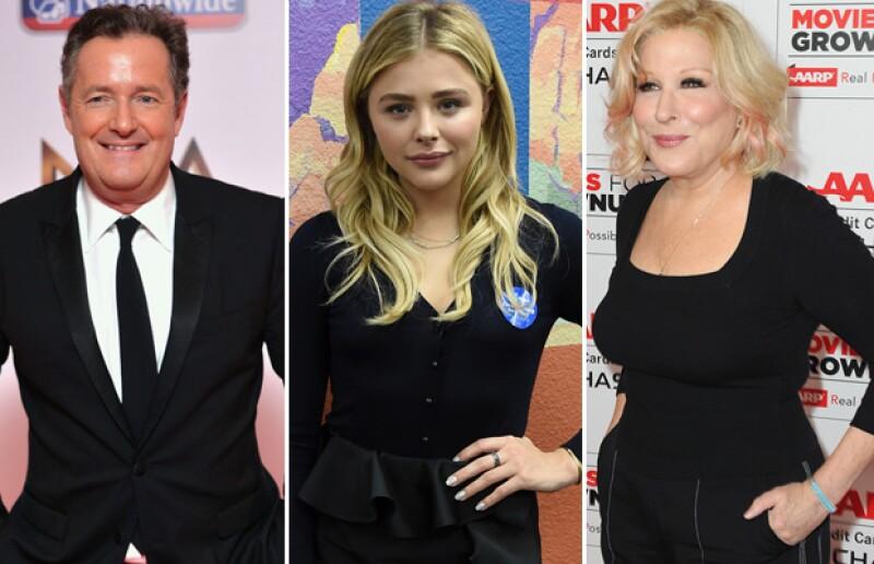 Kim respondió a Bette Midler, Piers Morgan y Chloë Moretz en Twitter.