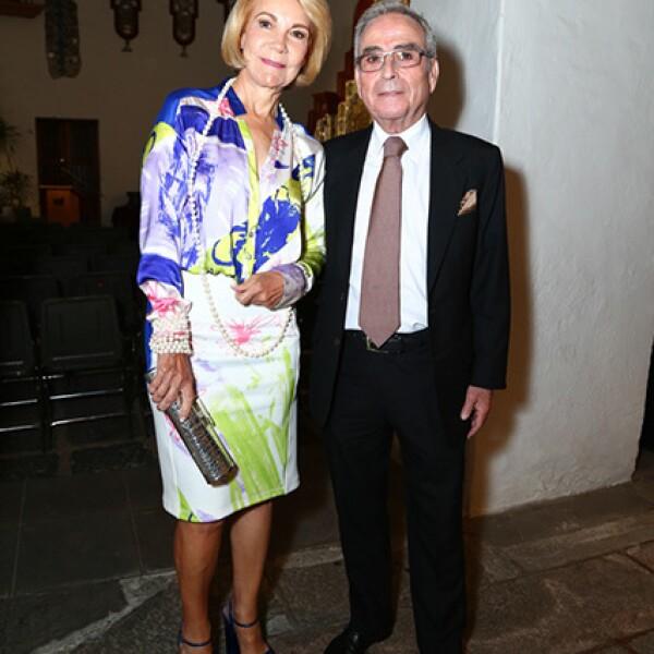 Ángela y Antonio Chedraui