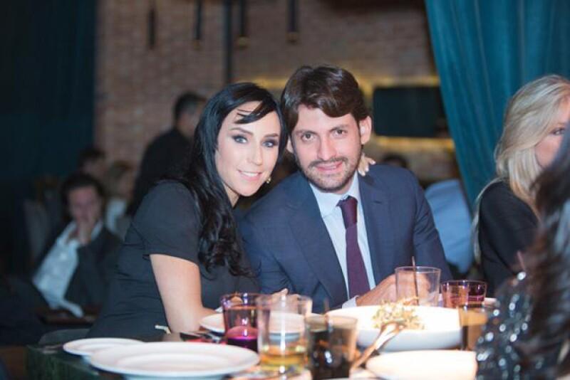Inés Gómez Mont y Víctor Manuel Álvarez Puga.