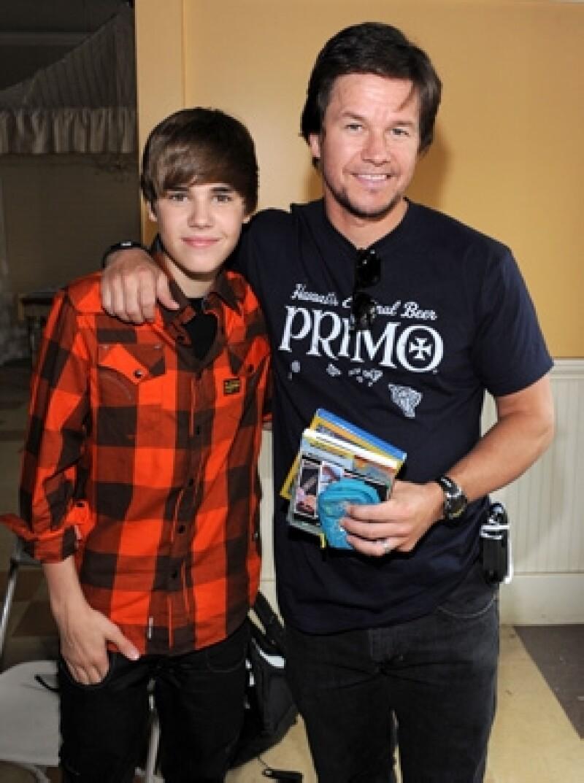 Justin y Mark estuvieron en pláticas par realizar un proyecto de película hace dos años.