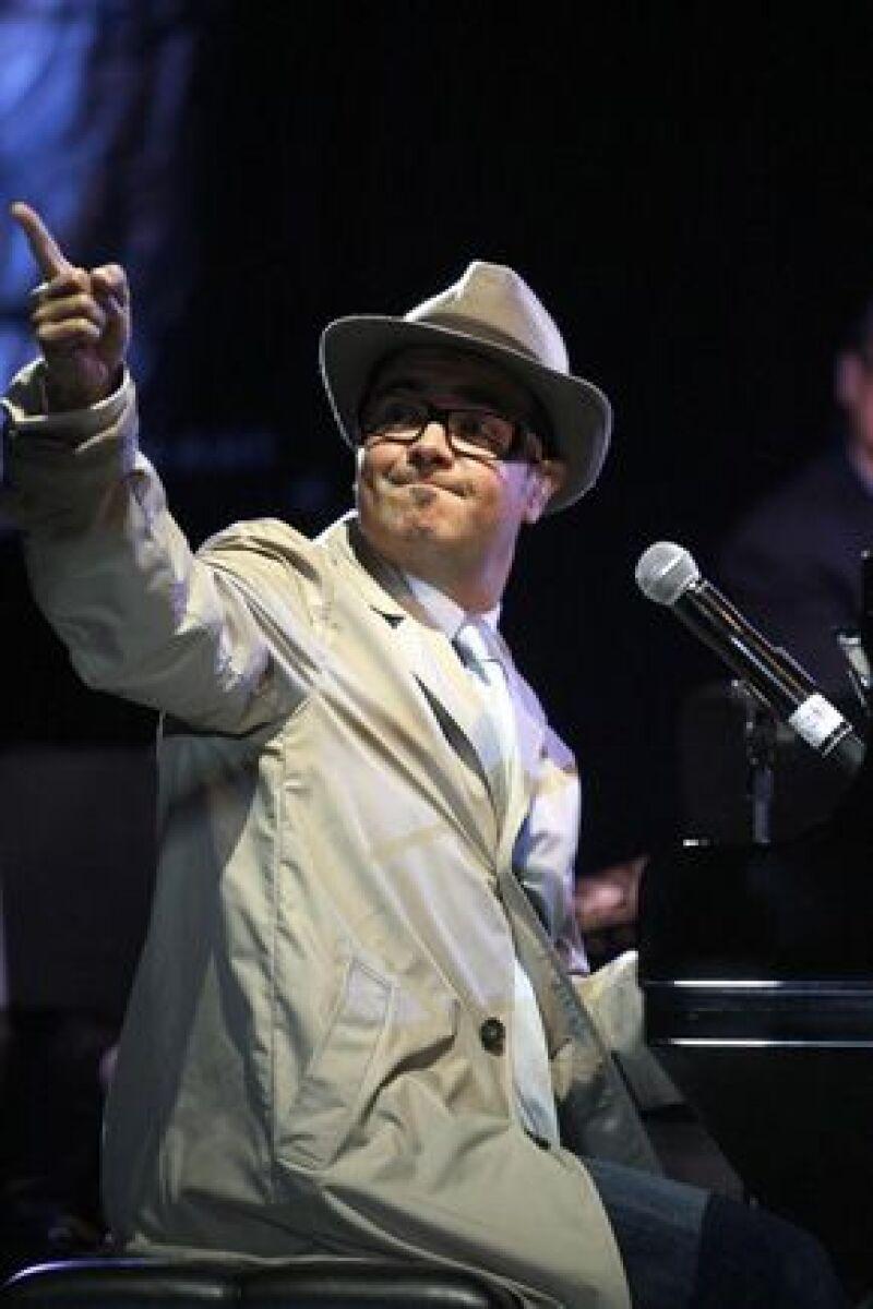 La celebración del cantante fue con un concierto en el Auditorio en compañía de 10 mil personas.