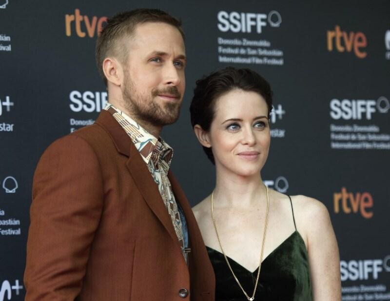 Ryan Gosling y Claire Foy