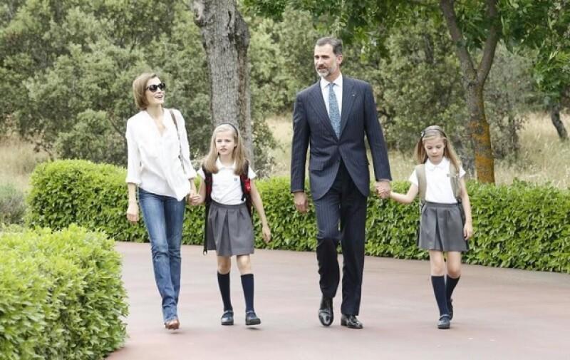 Imágenes de la familia real han cautivado los corazones de los españoles y el mundo.