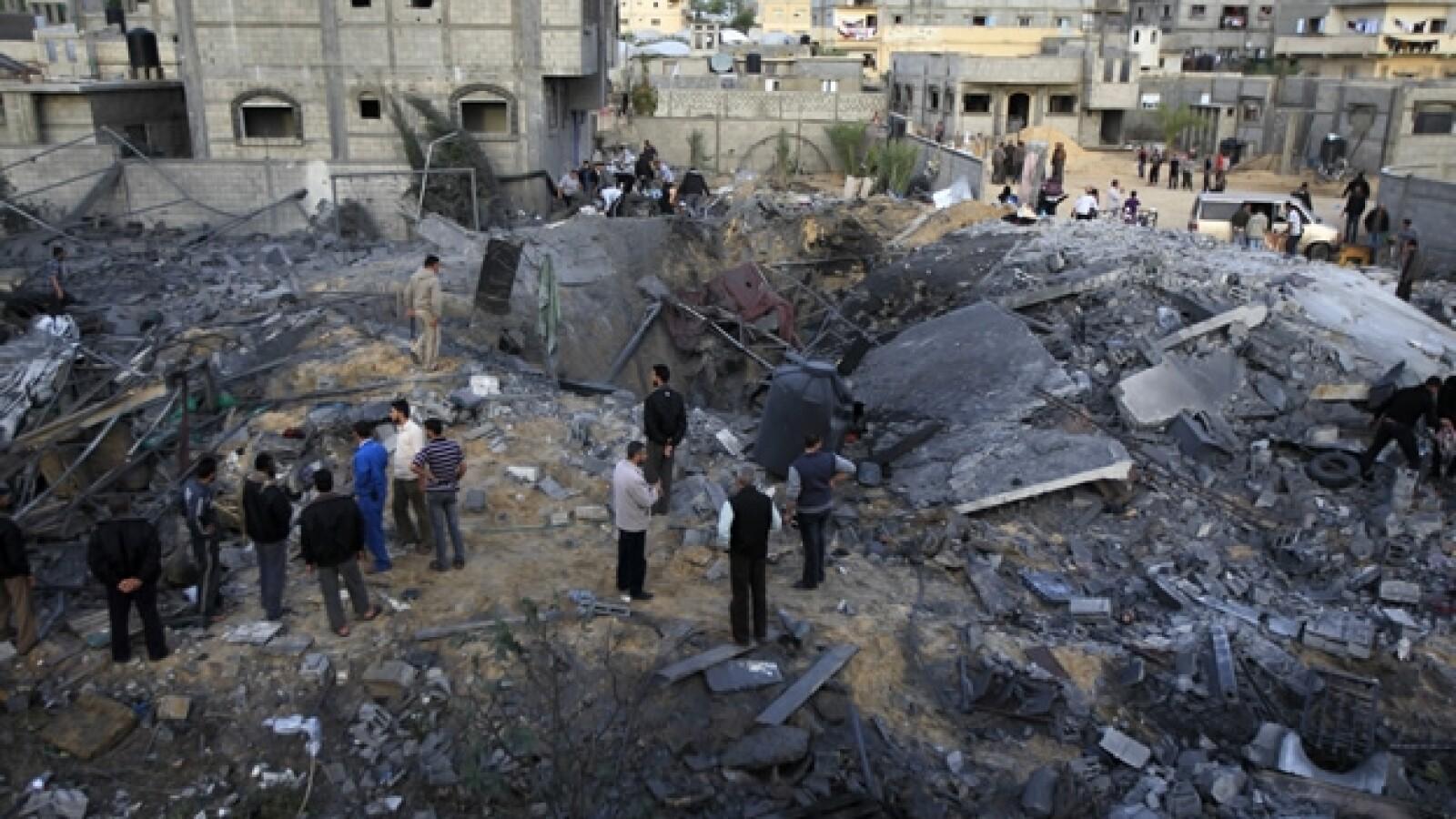 Gaza - Israel ataques 7