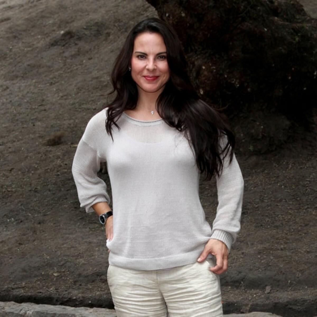 Kate del Castillo confronta sus miedos en Colombia
