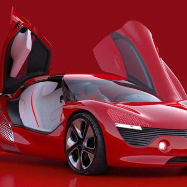 Aunque es un auto 100% concepto, cuenta con un motor eléctrico que produce 150 hp que, gracias al bajo peso de la carrocería y chasis tubular fabricado con kevlar de sólo 830 Kg, logra un tiempo de aceleración de 0 a 100 Km/h en menos de cinco segundos.