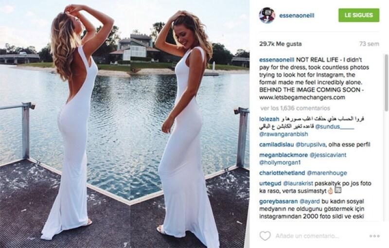 Essena se atrevió a revelar lo que verdaderamente pasa detrás de la industria de las redes sociales.