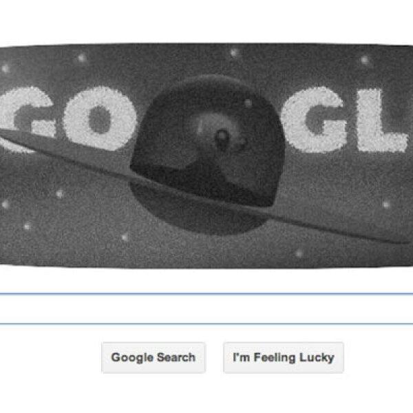 El 8 de julio de 2013, este 'doodle' celebró el 66 aniversario del incidente de Roswell, en el que supuestamente apareció una nave espacial en el desierto de Nuevo México.