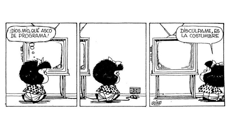 Resultado de imagen para mafalda asco de programa