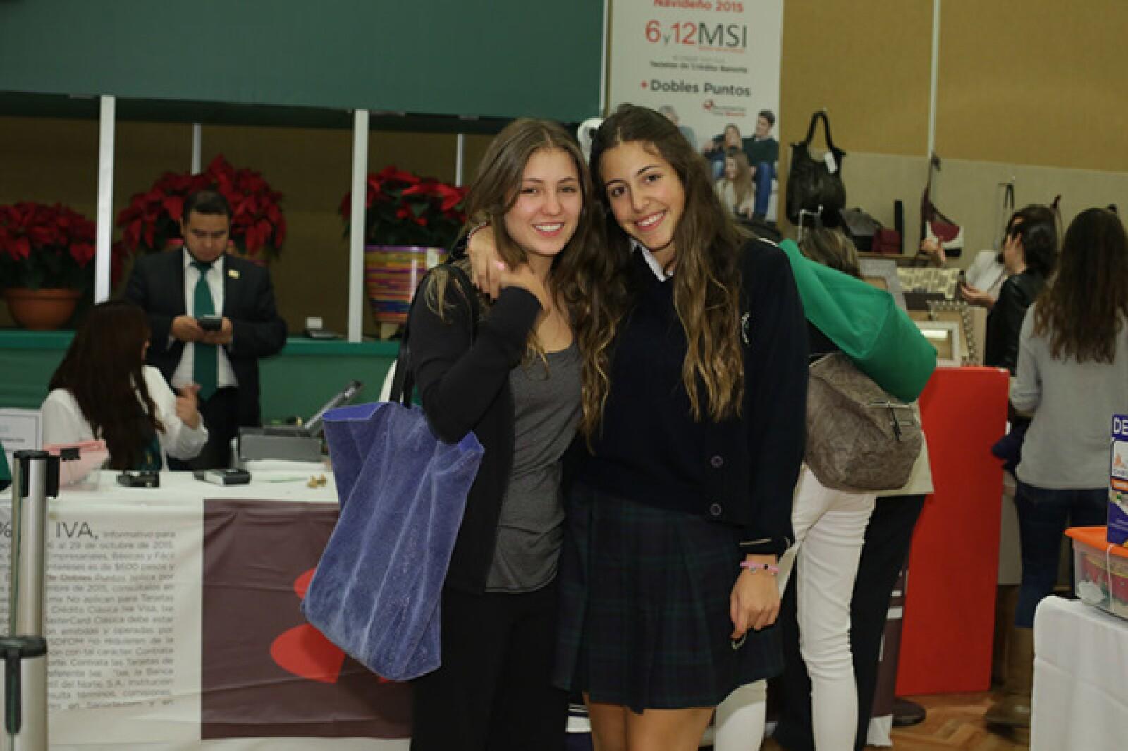 Ana Paula Castro y Lorenza Serna