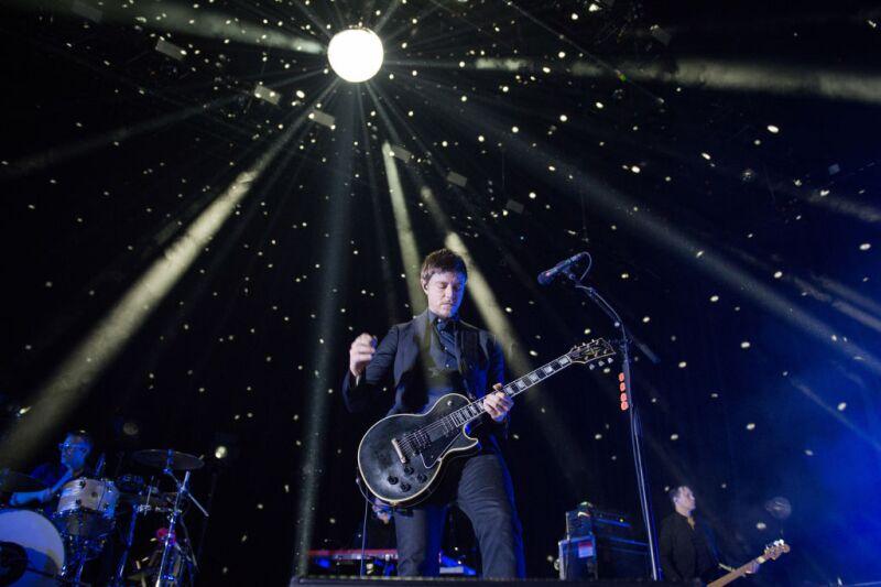 Interpol Performs At Salle Pleyel In Paris