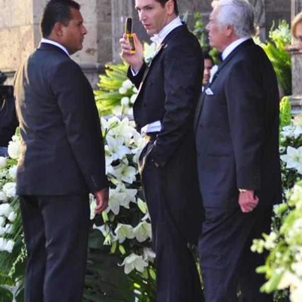 El novio Martín Fuentes