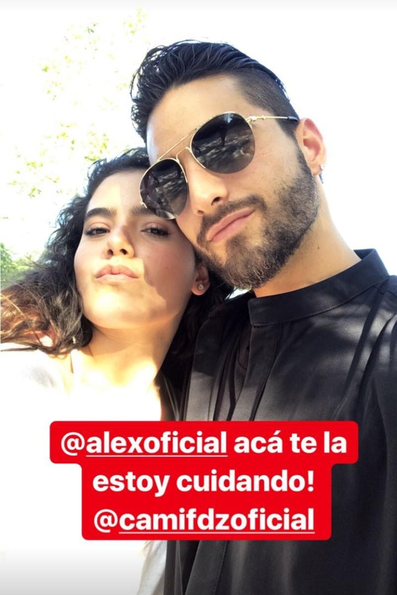 Camila Fernández y Maluma