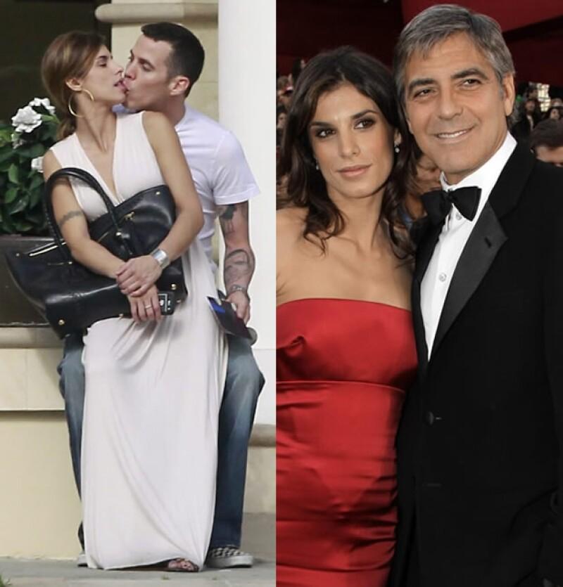 A Elisabetta Canalis se le vio muy romántica con su nuevo novia. Cuando era vista con George siempre lucían glamurosos.
