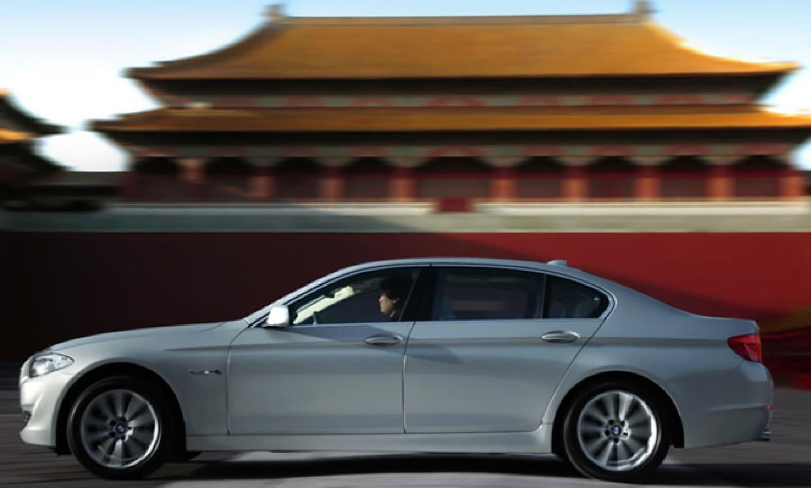 El Serie 5 del mercado chino será el mismo que se comercializa en el mundo, pero tendrá un incremento de tamaño de 14 cm.