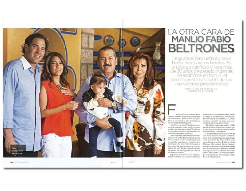 La entrevista y fotos se publicaron en la revista Quién, edición 237 (Abril 2007) Fotos: Tito Trueba/Texto: Nayeli Cortés Cano. (Retoque digital: Areli Sánchez)