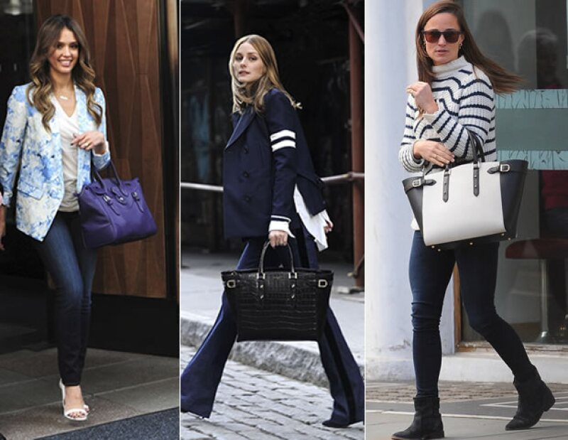 Jessica Alba, Olivia Palermo y Pippa middleton son algunas de las personas que ya cuentan con este tipo de bolsas.