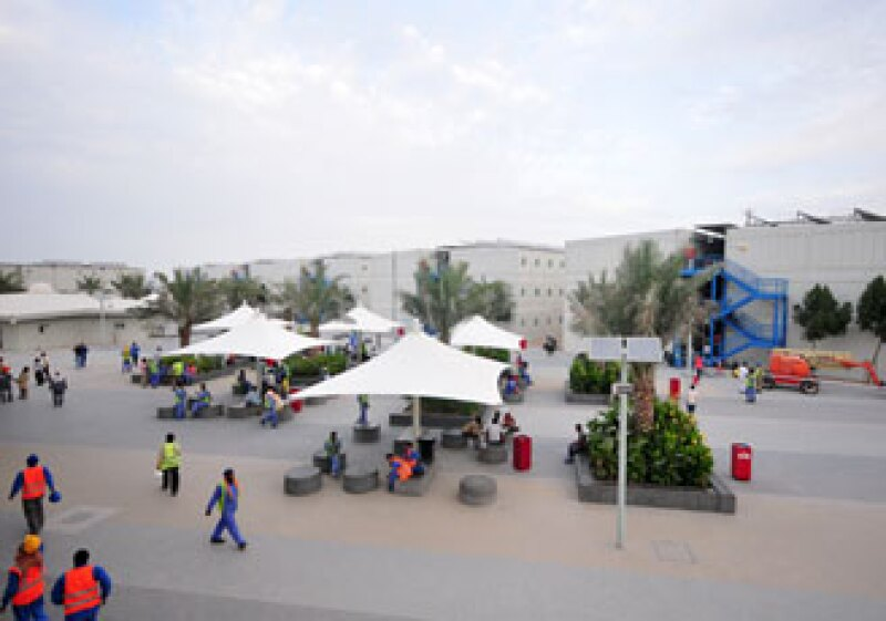 Recientemente un grupo de 130 artistas expresó su inconformidad por las condiciones laborales que enfrentan los obreros en la construcción del Guggenheim Abu Dhabi. (Foto: Cortesía: Media centre TDIC.)