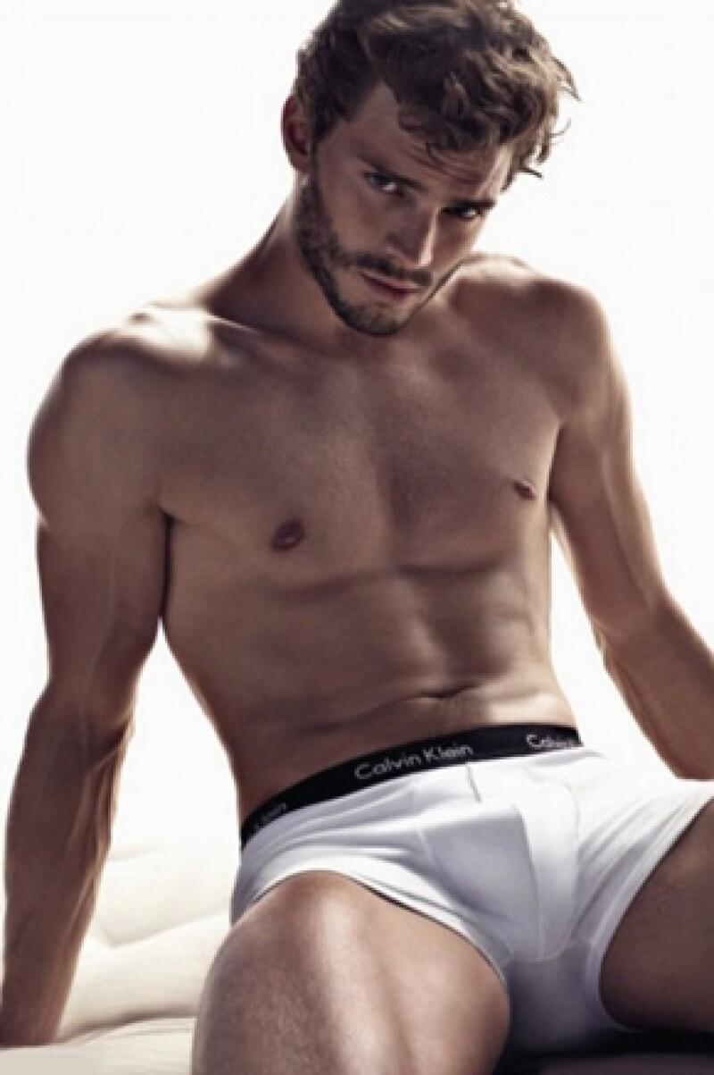Jamie fue modelo de Calvin Klein.