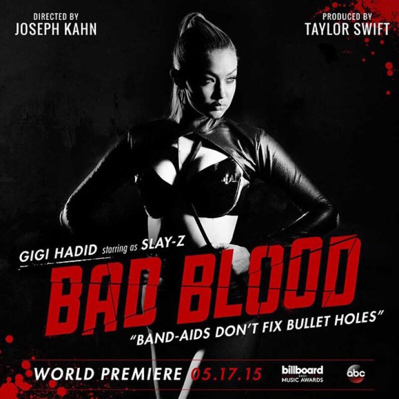Gigi Hadid se unió al elenco de Bad Blood.