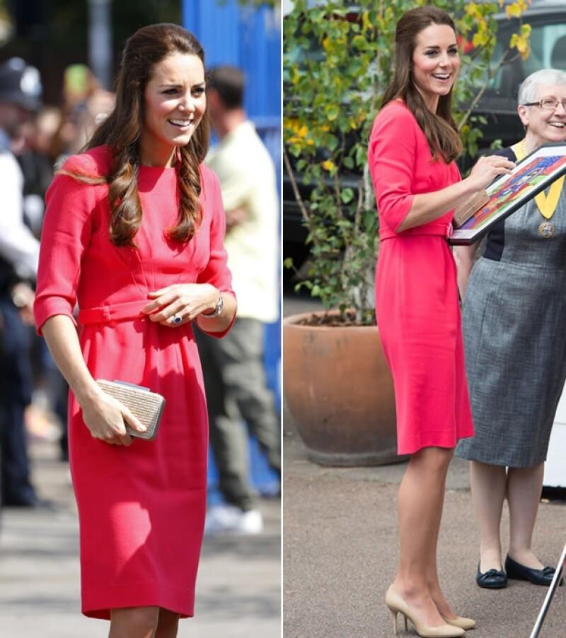 Hace unos días, la Duquesa de Cambridge atrajo miradas no sólo por su vestimenta, como sucede normalmente, sino por su muy delgada figura, suscitando comentarios de la prensa.
