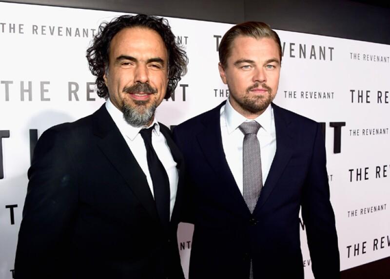 Leo DiCaprio fue reconocido por su trayectoria y por haber ganado este año el Oscar por su actuación en The Revenant, del Negro Iñarritu.