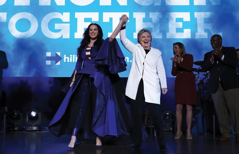 Hillary Clinton, Katy Perry