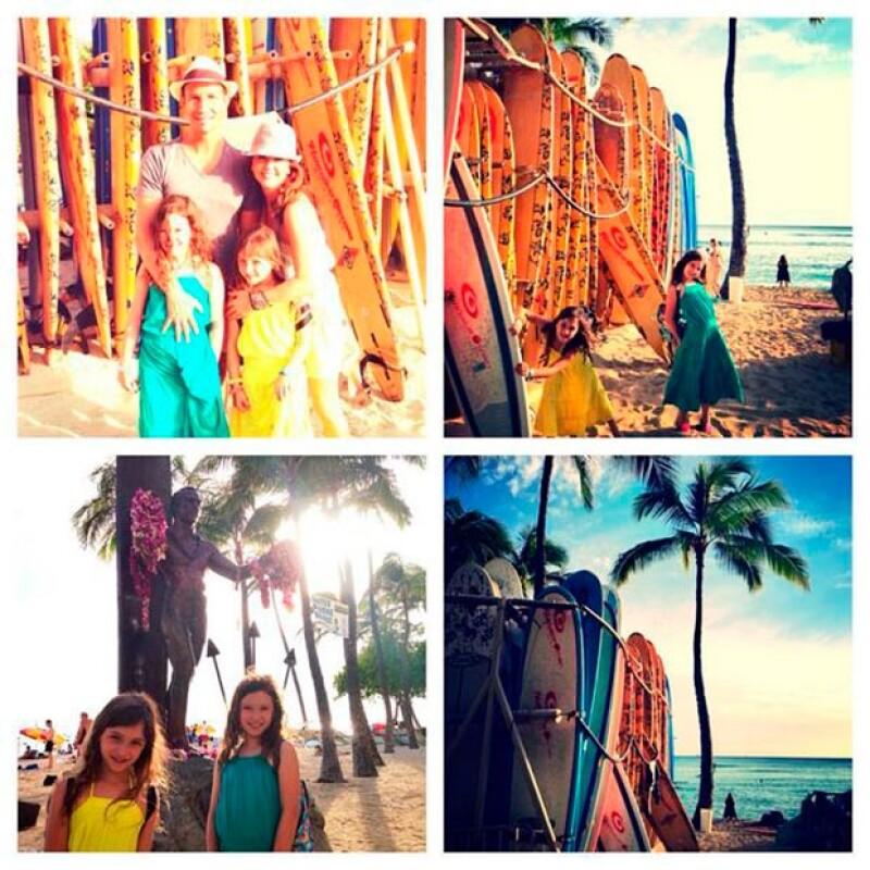 La conductora de Hoy ha compartido varias imágenes de sus vacaciones en las islas.