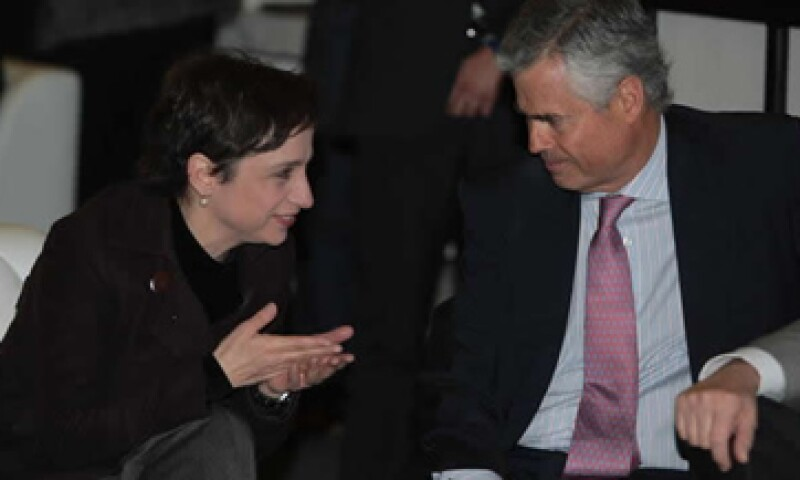 Joaquín Vargas acusa que las tensiones con el Gobierno por los comentarios de la conductora Carmen Aristegui frenaron el refrendo de sus concesiones. (Foto: César Toledo/Quién)