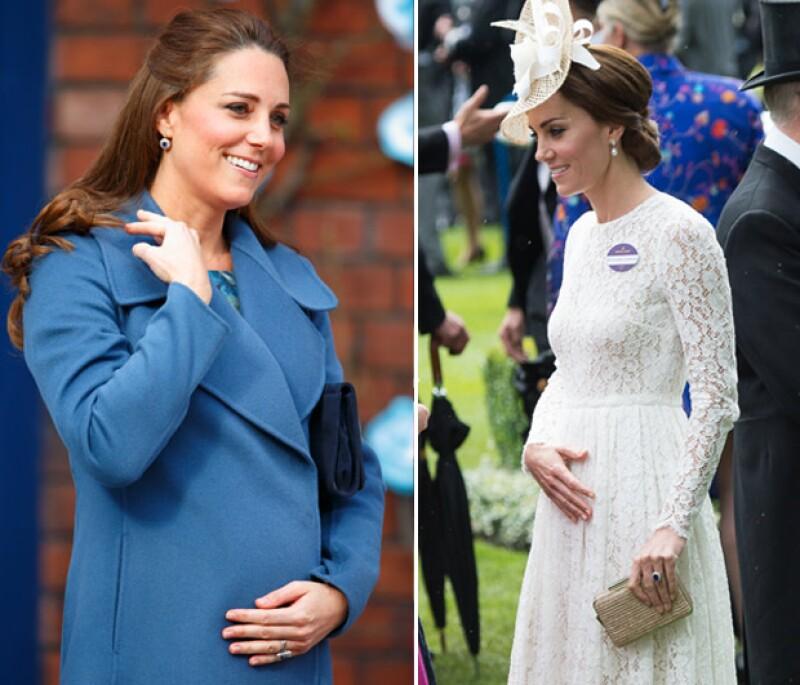 El debut de la duquesa de Cambridge en Royal Ascot no solo llamó la atención por el look que usó, sino por un momento en especial durante su estancia ahí que fue captado por los fotógrafos.