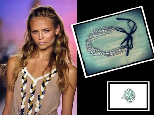 Las headbands de Daniela Cordova están disponibles en la boutique Simona y Cirilo. Anillo Tiffany and Co.