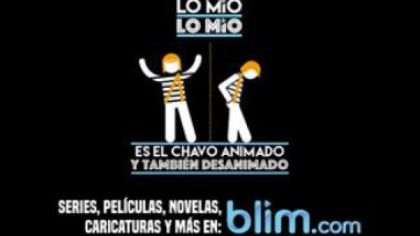 Los promocionales de la nueva plataforma de Televisa. (Foto: Cortesía/blim)