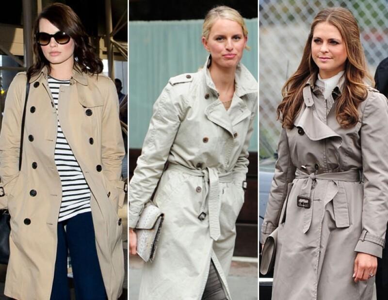 Margot Robbie, Karolina Kurkova y la princesa Madeleine de Suecia, son algunas de las celebs y royals que optan por usar un trench.