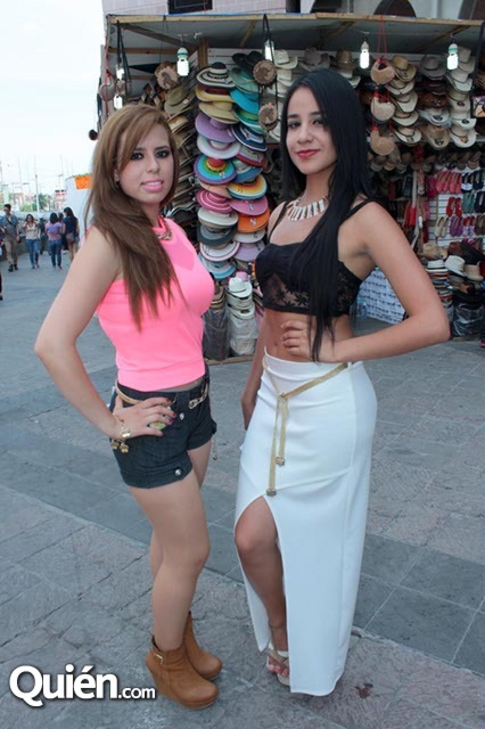 Carolina Rodríguez y Jessica Frías