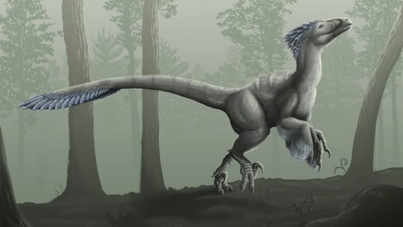 ilustracion de dinosaurio