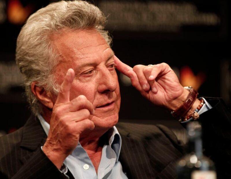 """El actor debutó como cineasta con la película """"Quartet"""" y recibe el Premio Donostia."""