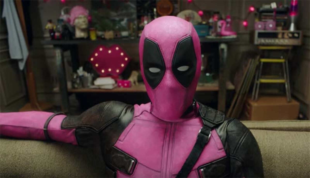 Deadpool se viste de rosa y aquí te decimos la razón 2233713d4716