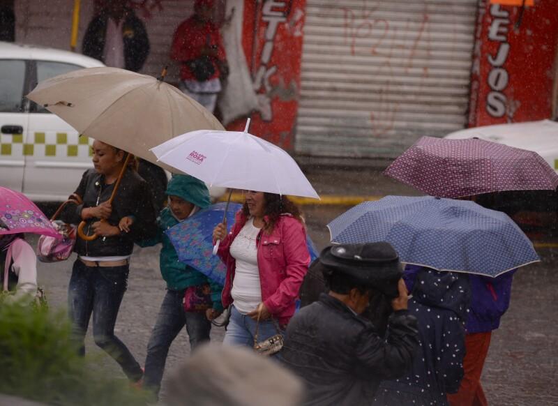 Más lluvia
