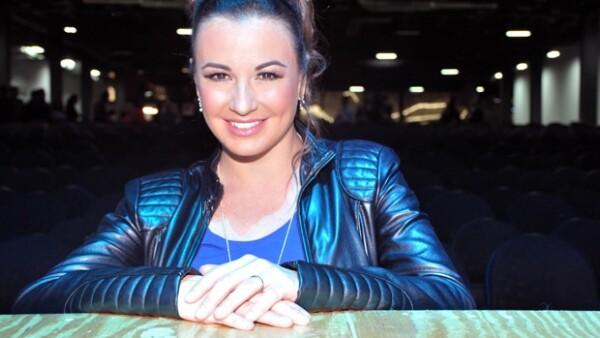 La cantante María José acudió a la rueda de prensa para anunciar el nuevo espacio musical.
