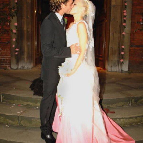 Gwen Stefani le pidió que le hiciera el vestido para el día más especial de su vida.