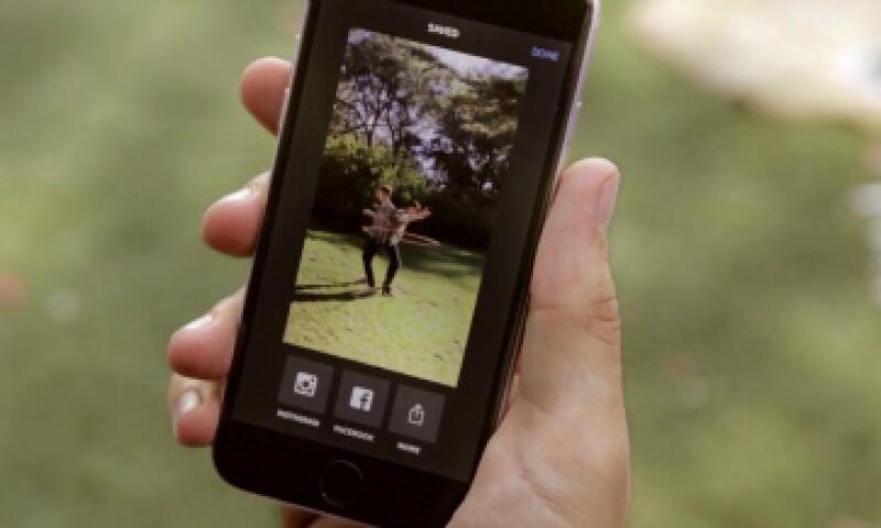 La app permite capturar momentos en movimiento. (Foto: Instagram/Cortesía )